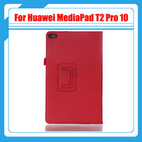Pu Leather Litchi Stand For Mediapad T2 PU Leather Cover Case For Huawei Mediapad T2