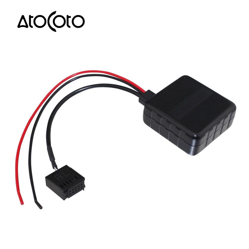 Car Bluetooth Wireless Module For Ford Focus Mondeo Cd 6000 6006 Dual Stereo Wire Harness 12pin Radio Power Plug Mp3 Tape Player Us Samochd Bezprzewodowy Modu Dla 5000c Aux Kabel