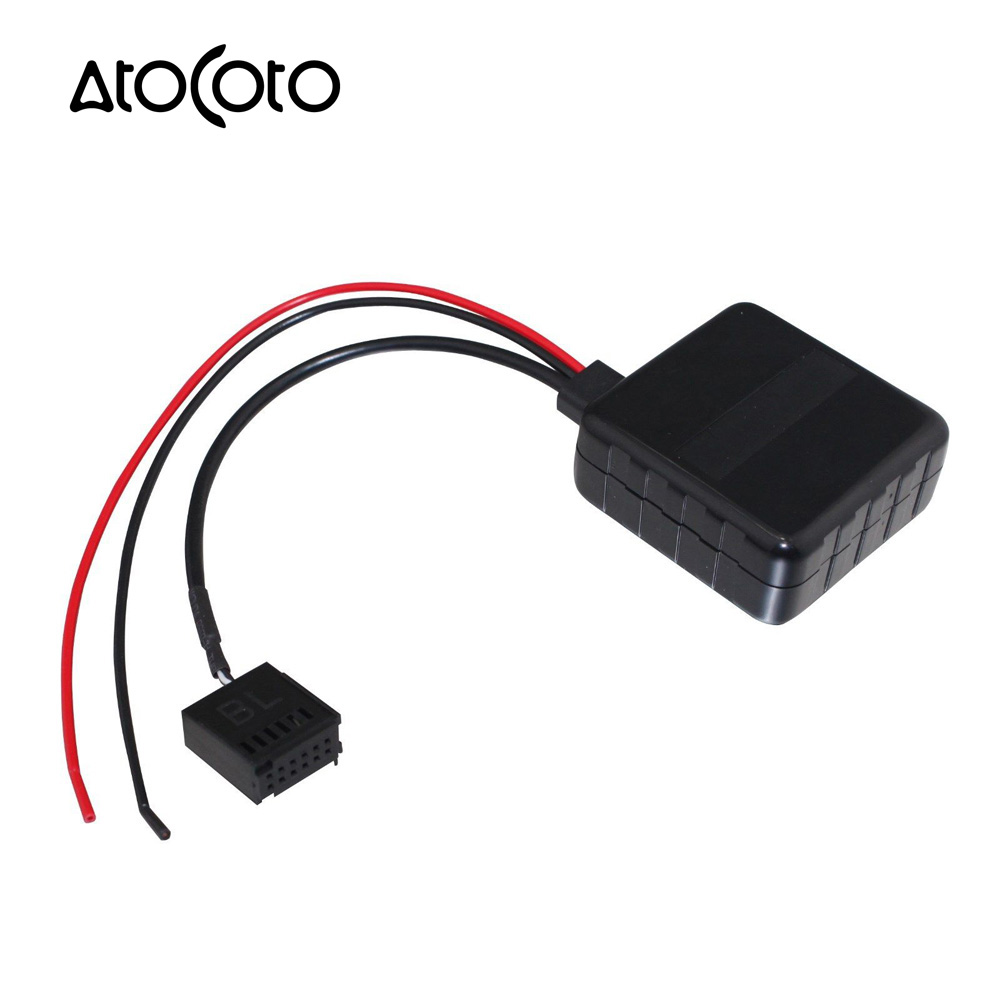 Car Bluetooth Wireless Module for    Ford       Focus    Mondeo 6000 CD Radio Stereo Aux Cable Adapter with