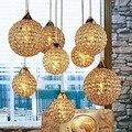 Ouro LEVOU Moderna Lâmpada de Cristal Pingente de luz com 8 Luzes Para Sala de Jantar, Lustres De Cristal Sala luminária