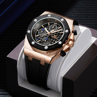 2019 ONOLA brand fashion SPORTS mens watches military wristwatches clock black gold waterproof unique cool metal watch for men