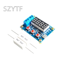 1.2v 12v ZB2L3 18650 Li ion Lithium Battery Capacity Tester + Resistance Lead acid Battery Capacity Meter Discharge Tester