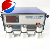 ultrasonic piezoelectric power generator 28khz 40khz Piezoelectric Ultrasonic Power Signal Generator 1000W for cleaning machine