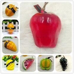 Owoce silikonowe formy DIY tajlandia Mango silikonowe formy handmadefruit mydło formy wiele kształtów modów świec w Formy do ciast od Dom i ogród na