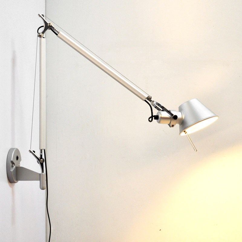 Simple modern Foldable wall lights long swing arm Adjustable Aluminum sconces lamps Telescopic wall lights for bedroom modern foldable wall lights long swing arm adjustable aluminum sconces lamps telescopic wall lights for bedroom