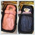 Ins bebé saco de dormir otoño e invierno engrosamiento de algodón acolchado contra tipi recién nacido cochecito de bebé de algodón 100% saco de dormir