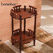 Leewince держатели для хранения Универсальная полка дисплей стойки журнальные столики угловая полка товары выбор продуктов мебель консоли столы