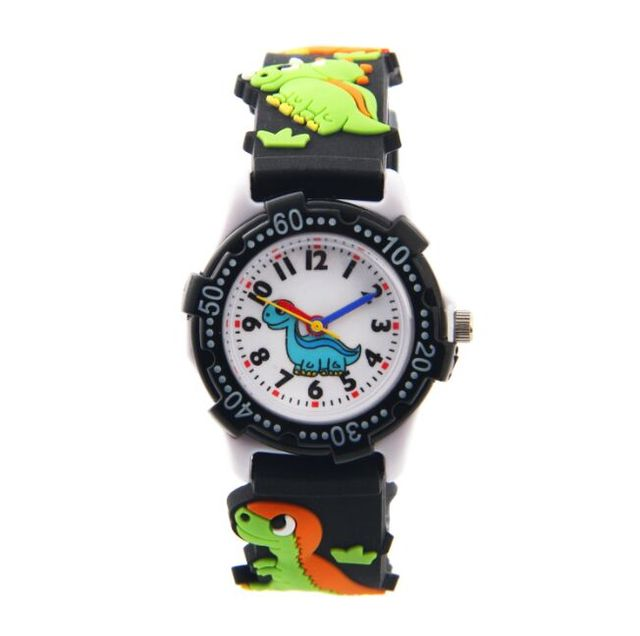 WL Waterproof Kid Watches Children Silicone Wristwatches Jurassic dinosaur Brand