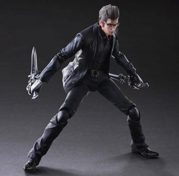 Play Arts Final Fantasy Figure Final Fantasy XV Ignis Scientia Caelum Figure PA 27cm PVC Action Figure Toys Play Arts Kai Figure play arts final fantasy figure final fantasy vii sephiroth figure pa play arts kai cloud strife 27cm pvc action figure doll toys