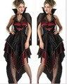 Nueva mujer Sexy Traje de Fantasía de Halloween Cosplay Disfraces para Adultos Establecidos Mujeres Vampiros Vixen Traje de Rol Ropa