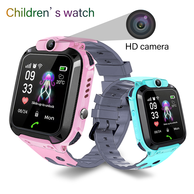 BANGWEI Smart Watch LBS Kid Smart Watches Baby Watch For Children SOS Call Location Finder Locator Tracker Anti Lost Watches+BOX