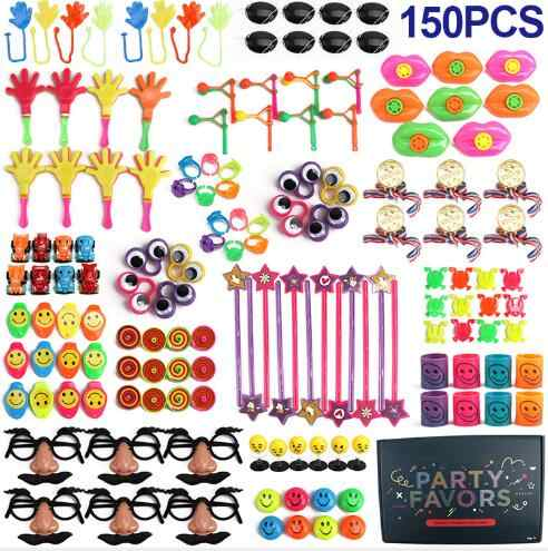 Brand New Great value 150x kids toy assortment prizes rewards toy for girls boys party toys favors gifts loot bag pinata fillers
