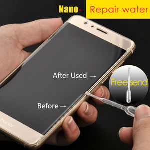 Image 5 - 3 1/PCS Matte protective Glass For Honor 10 9 P40 lite 8x 7x Screen Protector Tempered glass for huawei p30 p20 Y5 Y6 Y7 Y8 P S