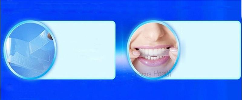 3d Teeth Whitening Strips Whitestrips Tooth Whitener Blanqueador Clareador Clareamento Dental 14 Pouches 28 Strips Oral Hygiene Teeth Whitening Strips