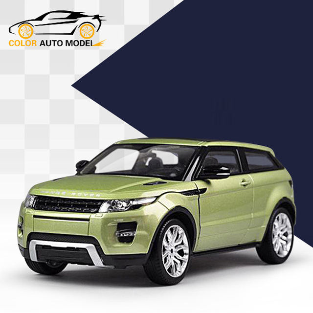 Children Kids Welly Range Rover Evoque Model Car 1:36 Diecast Metal Alloy Cars Toy Pull Back Gift