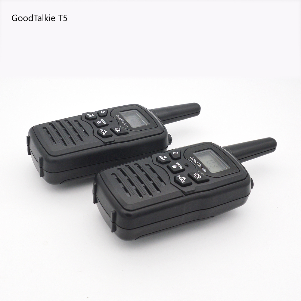 Image 2 - 2pcs GoodTalkie T5 long range two way radios travel walkie talkie 10 km-in Walkie Talkie from Cellphones & Telecommunications