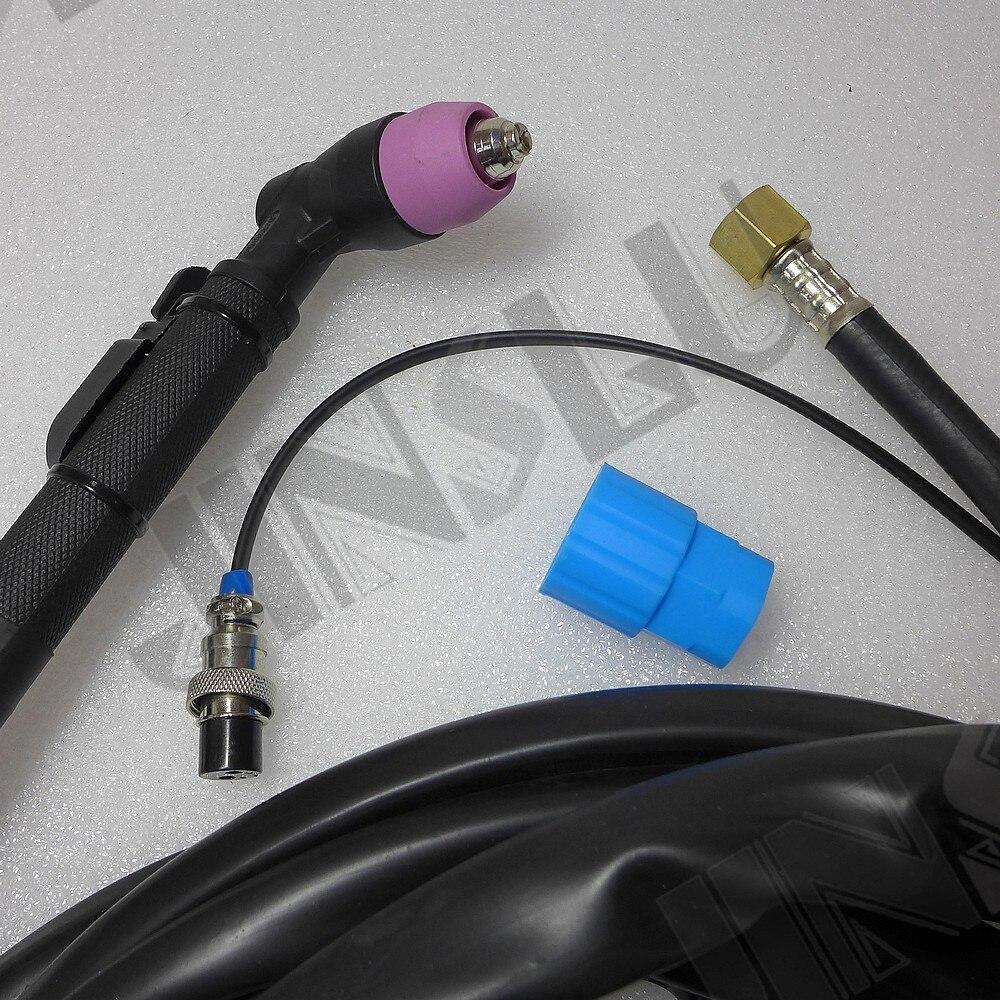 50A Non-Pilot Arc HF Plasma Torch 5 Meter M16 Connection welding machine parts 50a non pilot arc hf plasma torch 5 meter m16 connection