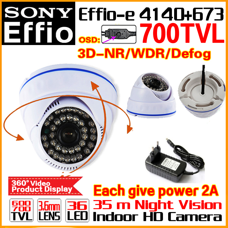 2017 hot Sale!Security Camera 1/3ccd Eiffo-E Real 700TVL CCTV ahdl Camera HD Night Vision 30m IR-cut Indoor Home VIdeo OSD Meun free shipping sony ccd cctv camera 1200tvl ir cut filter security ir dome camera indoor home security night vision video camera
