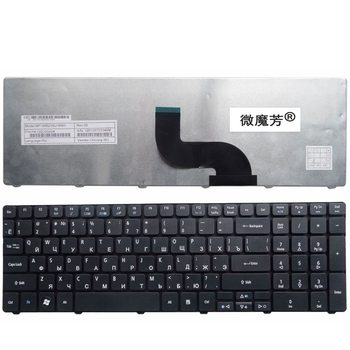 Teclado de ordenador portátil ruso/RU para Acer Aspire 5742G 5740 5742 5810T...