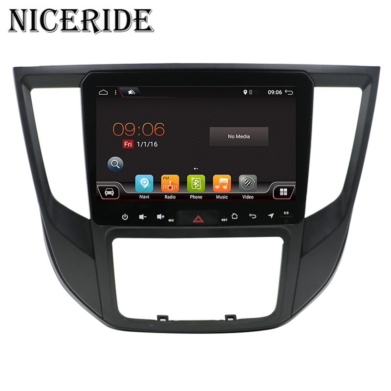"9"" 2 Din Android 7.1 1024*600 Car Radio For MITSUBISHI LANCER-EX 2017- Car Audio Stereo Multimedia Player gps navi wifi BT"
