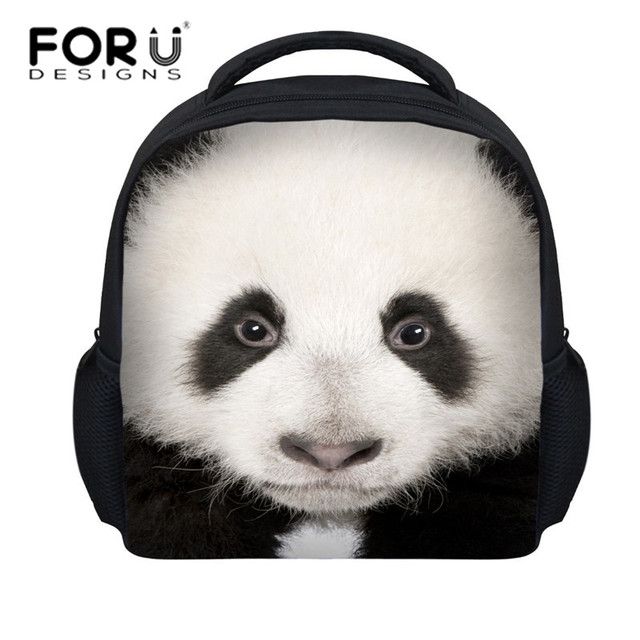 Aliexpress.com : Buy FORUDESIGNS 3D Panda Print School Backpacks ...