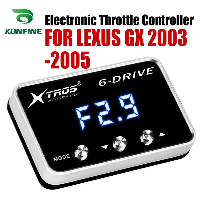 Car Electronic Throttle Controller Racing Accelerator Potent Booster For LEXUS GX 2003-2005 Tuning Parts AccessoryCar Electronic Throttle Controller Racing Accelerator Potent Booster For LEXUS GX 2003-2005 Tuning Parts Accessory