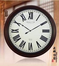 Moda antigua super gran reloj de pared mudo moderno reloj grande rústico relojes de cuarzo moda