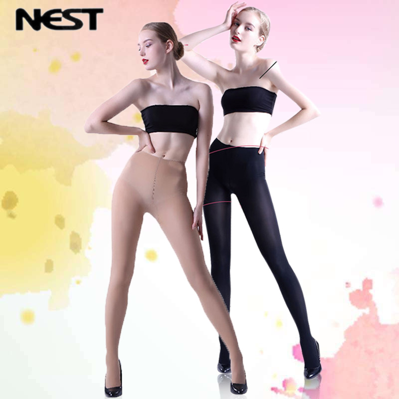 NEXT Women Tights Fashion Black Skin Long Tights High quality Anti knife Pantyhose Thin Fat Elastic Tights LEOHEX in Tights from Underwear Sleepwears
