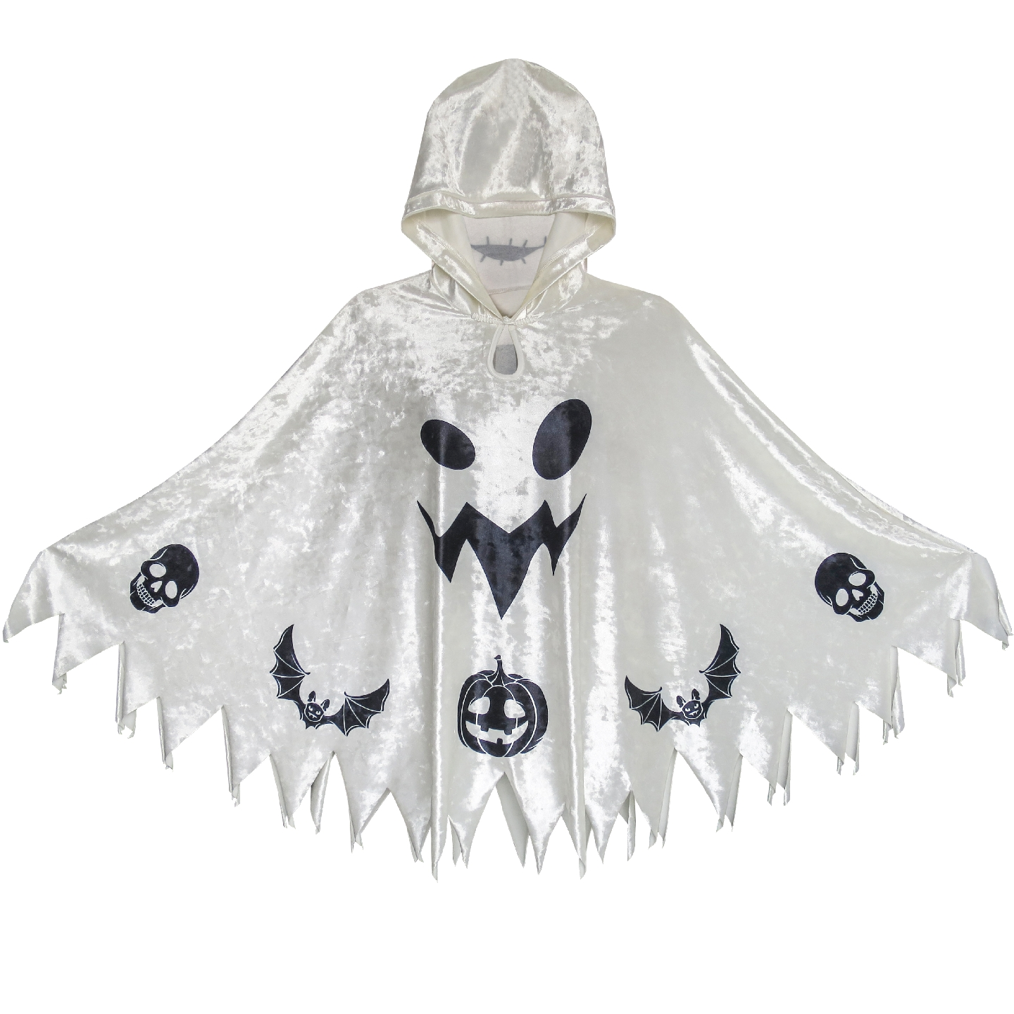 цена Halloween Witch Cape Velvet Hooded Cloak Costumes Wizard Cosplay 2019 Summer Princess Wedding Party Dresses Kids Clothes Pageant