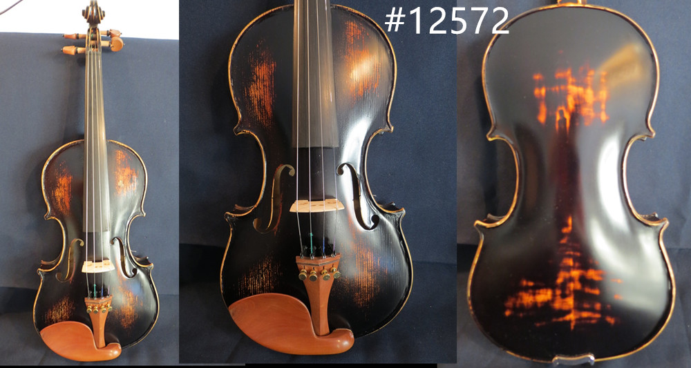 SONG Brand hand made solid wood violin 4/4,free case bow rosin #12572 image