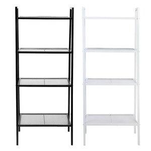 Image 1 - 4 ชั้นชั้นวางหนังสือ Rack Storage Organization Book Storage Rack ผู้ถือเก็บตกแต่งบ้าน