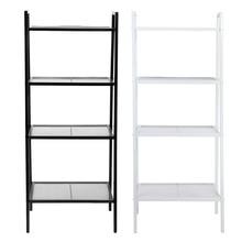 4 Tiers Shelf Unit Bookshelf Rack Storage Organization Book Storage Display Rack Storage Holders Home Decoration