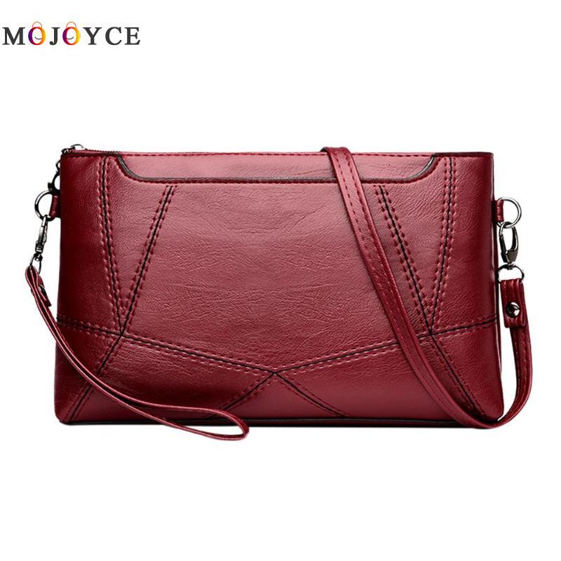 Casual Women Messenger Bag Female PU Leather Shoulder Crossbody Bag Office Ladies Designer Handbag Bolsa Feminina 3
