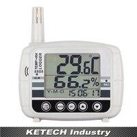 Az 8808 Портативный цифровой большой ЖК дисплей Дисплей Температура и влажности Регистраторы