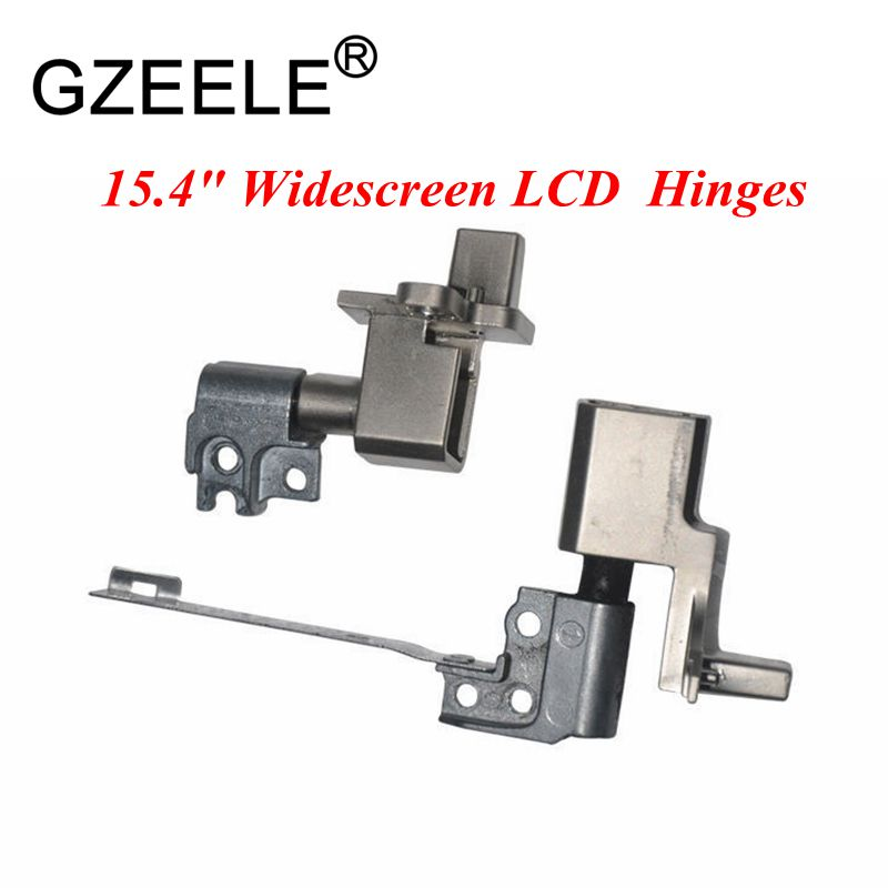 "GZEELE new for IBM for Lenovo for Thinkpad T61 T61p 15.4"" Widescreen LCD Screen Hinges Set L+R 42W2745 42W3655 42W3656 hinge-in LCD Hinges from Computer & Office"