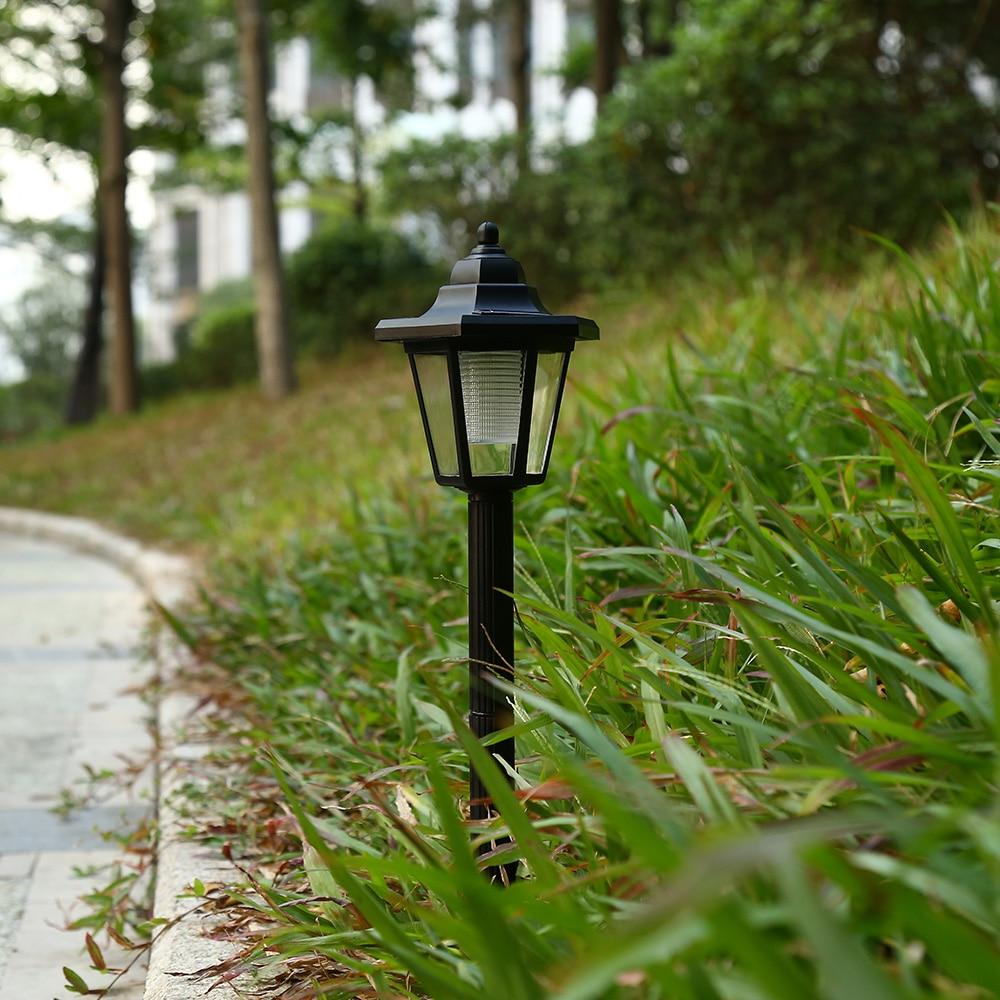 LightMe Garden Lamp Solar Powered Hexagonal Pathway Light ...