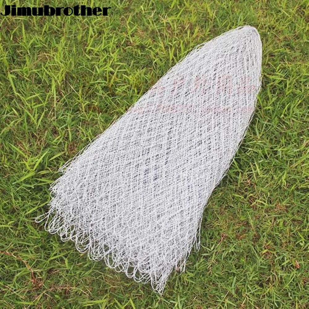 Nylon fishing nets fishing tackle collapsible rhombus mesh for Collapsible fishing net