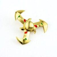 NEW Genji Ninja Darts Tri Spinner Fidget Toy Metal EDC Fidgets Hand Spinner Autism And ADHD