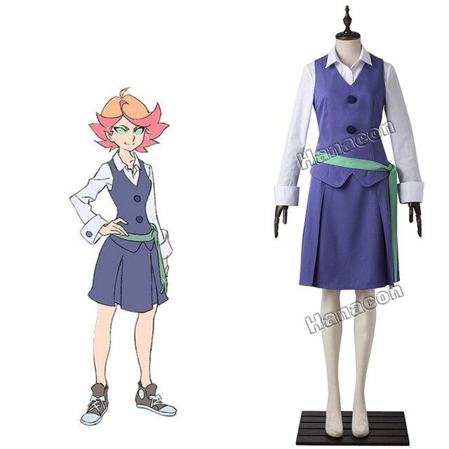 New Anime Little Witch Academia Cosplay Costume Amanda O ...