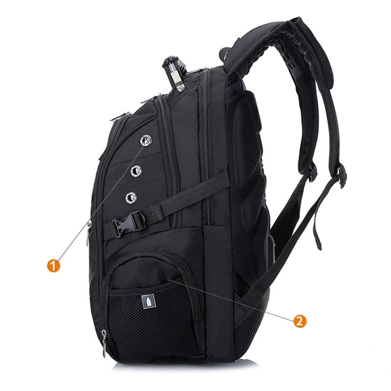 Image 3 - MAGIC UNION Hot Sale Mens Travel Bag Man Swiss Backpack  Polyester Bags Waterproof Anti Theft Backpack Laptop Bag Menwaterproof  schoolbagschildren school bags boychildren school