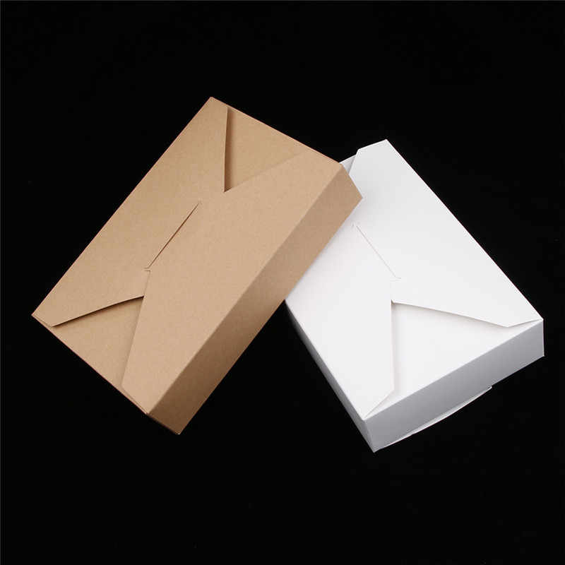 High Quality Cookbook Packaging Kraft Paper Box Gift Box For Wedding Birthday Party Candy Cookies Christmas party gift ideas Box