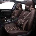 AUTO REIZEN Custom Doek auto bekleding voor PEUGEOT 407 308SW 607 307CC 3008 307SW 4008 Automobiles Stoelhoezen auto zetels