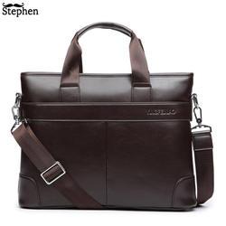 Платье Для мужчин мужская сумка Для мужчин Портфели из искусственной кожи Бизнес Повседневное сумки Винтаж путешествия ноутбук сумка Для