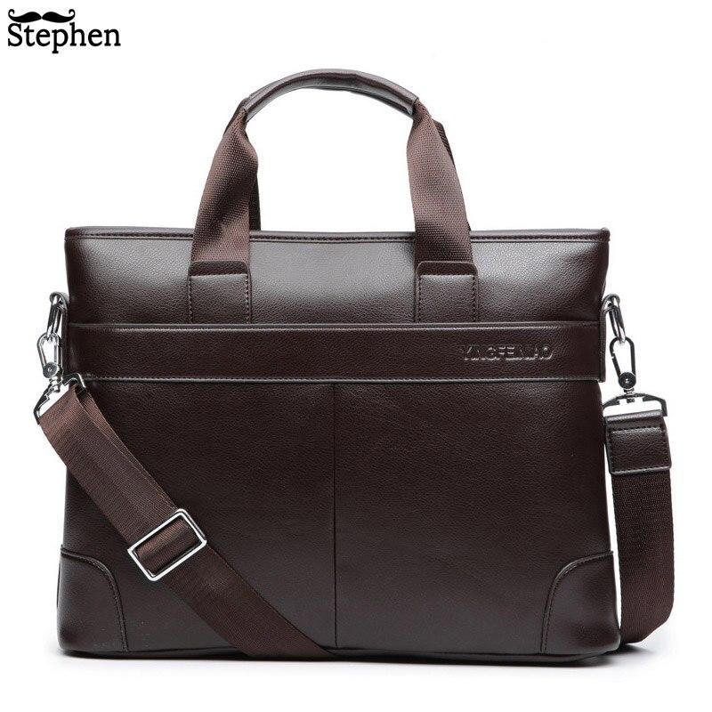 cd6569b08653 Платье Для мужчин мужская сумка Для мужчин Портфели из искусственной кожи  Бизнес Повседневное сумки Винтаж путешествия ноутбук сумка Для М..