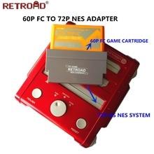 60 Pin Zu 72 Pin Adapter Konverter Für Nintendo NES Konsole System (FC NES Konverter)