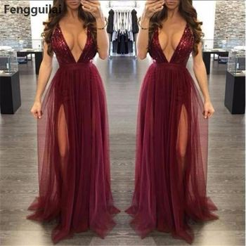 Sleeveless Women Deep V Neck Dress High Waist Pleated Mesh Clothes Women Long Formal Dress Party Ball Gown Dress elegant long chiffon dress women a line deep v neck sleeveless sparkle maxi dress ladies formal party dress vestidos de festa