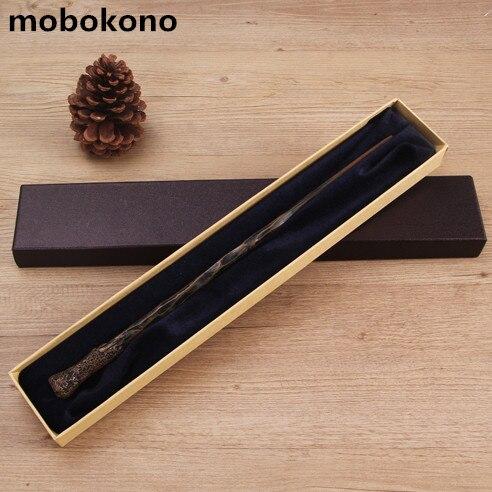 mobokono New Metal Core Ron Weasley Magic Wand High Quality Gift Box Packing