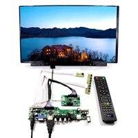 Телевизор + HDMI + VGA + AV + USB + Аудио ЖК панель управления с 15,6 дюймов 1920x1080 B156HAN01.2 ips ЖК экран