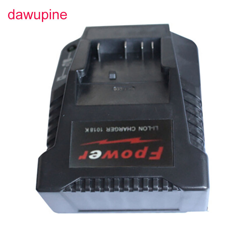 dawupine 1018K Charger For Bosch Electrical Drill 18V 14.4V Li-ion Battery BAT609 BAT609G BAT618 BAT618G BAT614 2607336236 набор bosch рубанок gho 18 v li 0 601 5a0 300 адаптер gaa 18v 24