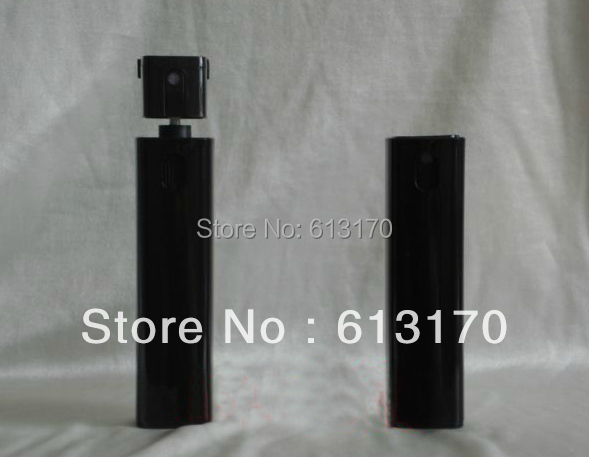 Free Shipping 10ml Glass perfume spray bottle Mini mist sprayer atomizer Bottle Travel Makeup cosmetic container black color